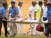 Another Accidental Injury Cricket Field Well Rohan Bhosale