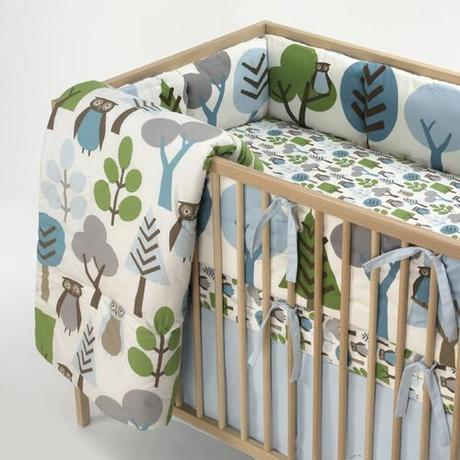 Surprise Woodland Baby Nursery Transformation inspired by Dwell Studios Owl Sky Bedding: Part 1