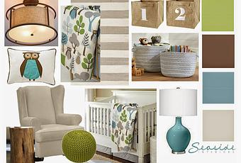 Surprise Woodland Baby Nursery Transformation Inspired by Dwell ...