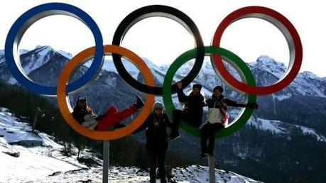 Julia At The Olympics