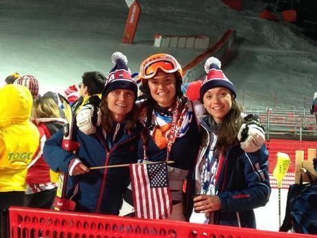 Sochi Olympic Slalom Family Photo
