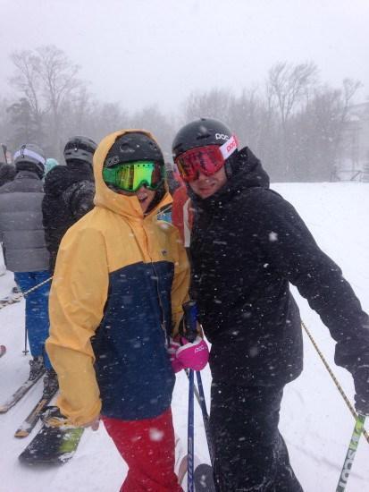Skiing At Jay Peak