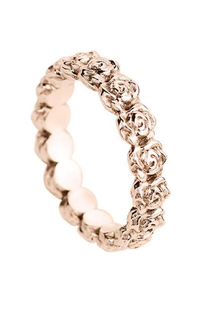 Wedding Spotlight Rose Gold Engagement Rings Paperblog