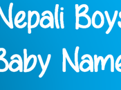 Choosing Nepali Boy's Name