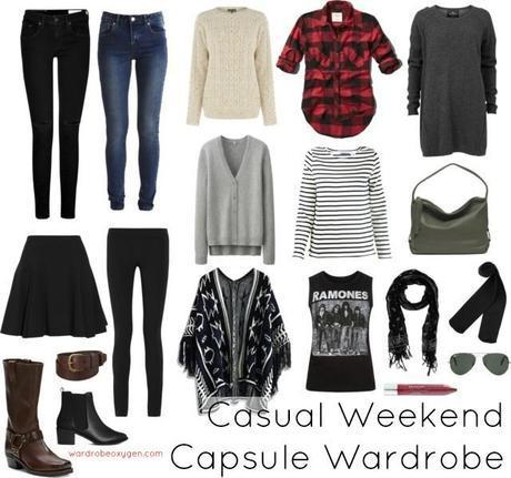 Capsule Wardrobe for the Weekend Warrior