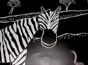 SCRATCH BOARD ART: Perfect Black White Animals Other Subjects