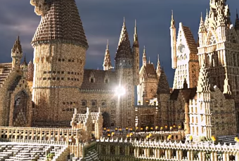 this minecraft hogwarts is amazing   paperblog