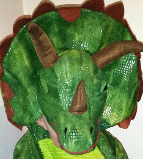 Triceratops Dress Up Costume Review