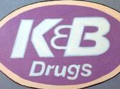 Painting K&B Drugs Sign