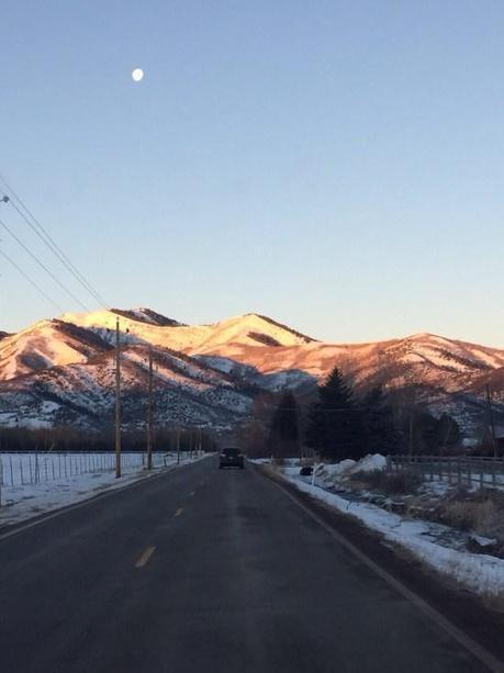 Driving through Salt Lake City