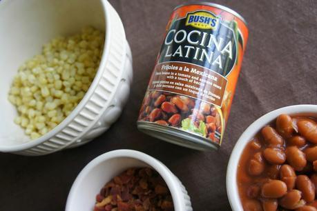 Pinto Bean Salad using Bush's Cocina Latina {plus 3 more bean appetizer recipes}