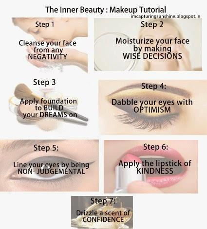 How to Achieve Inner Beauty: Everyday Makeup Tutorial