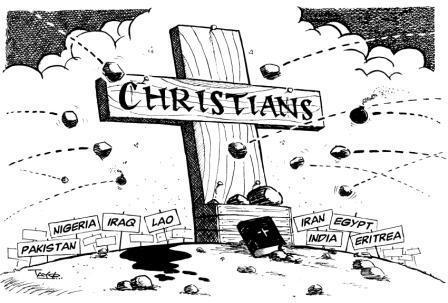 Muslim Persecution Of Christians, November 2014