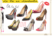 "Christian Louboutin ""Heels For"""
