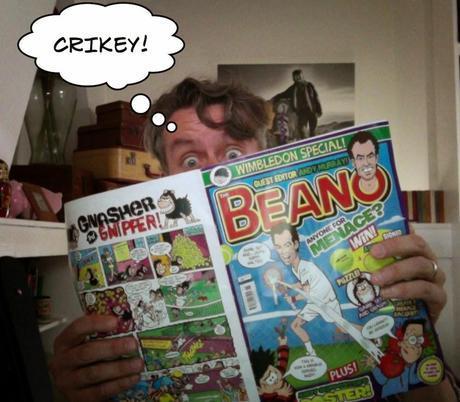 A Cartoon & Comic Book Tour of London No.4: Scooby Doo & #Wimbledon