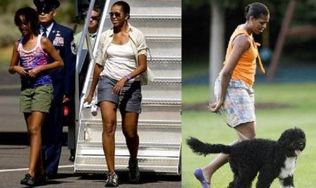 Michelle Obama in shorts (2)
