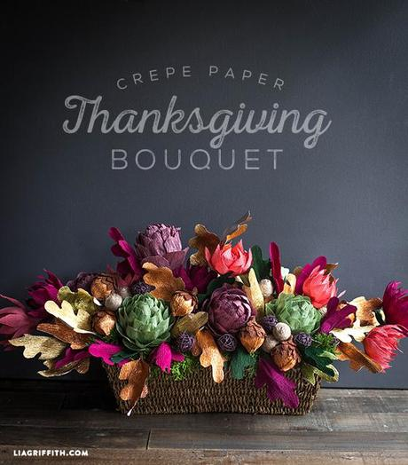 Thanksgiving_Bouquet_Crepe_Paper