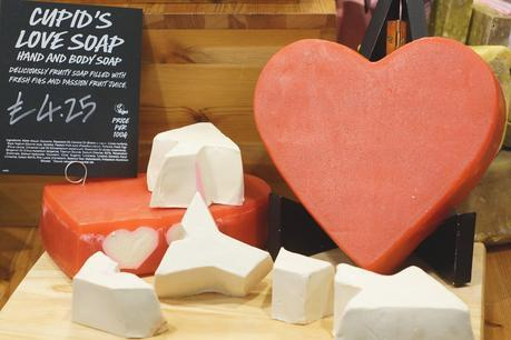 Hello Freckles LUSH Valentine's Day 2015 Cupid's Love Soap
