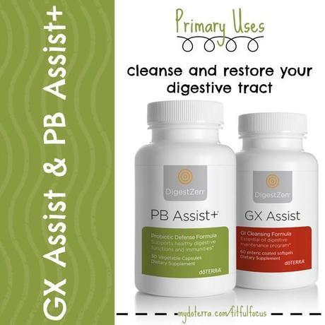 GX Assist + PB Assist+ via Fitful Focus #essentialoils #digestive #cleanse #doterra