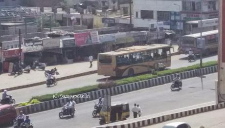 Chennai City traffic accidents ~ more AC buses on OMR