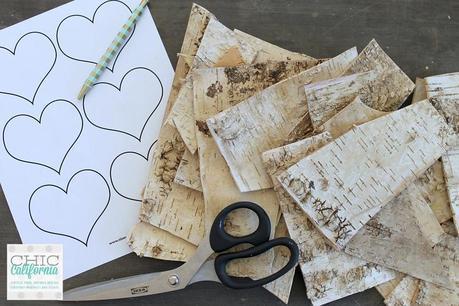 supplies for Valentines Day craft