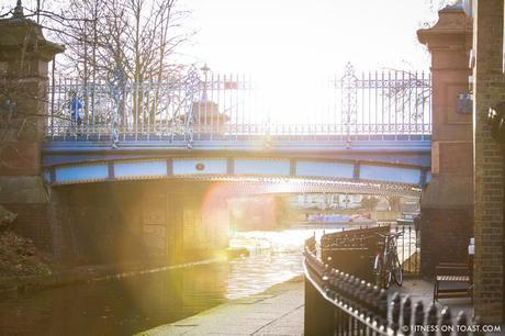 Fitness On Toast Faya Blog Girl Healthy Exercise Canal Hiit Sprint Training Workout Idea Forever 21 Activewear London Little Venice Canal Running Run-3