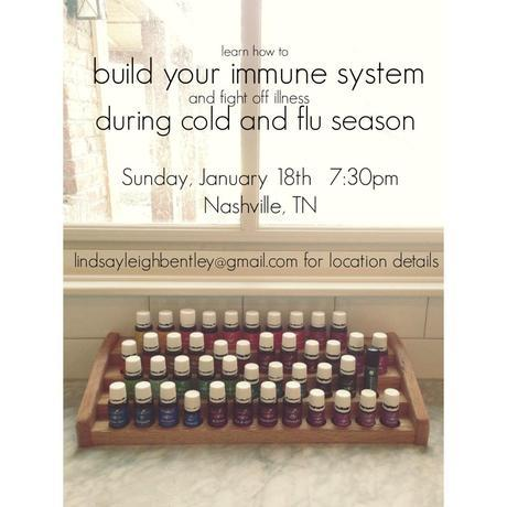 Nashville!  come learn how to build your immune system and fight off illness during cold and flu season!