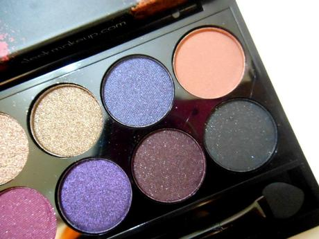 Sleek Vintage Romance I-Divine Eye Shadow Palette : Review, Swatches
