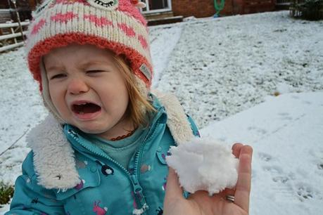 Reasons my toddler is crying...