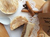 Chai Cheesecake with Speculoos Swirls