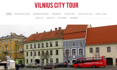 Vilnius City Tour Website.