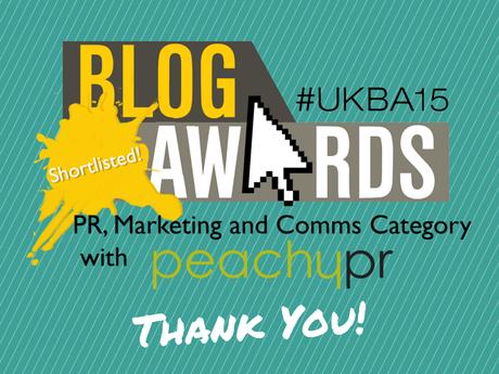 UK Blog Award Finalist