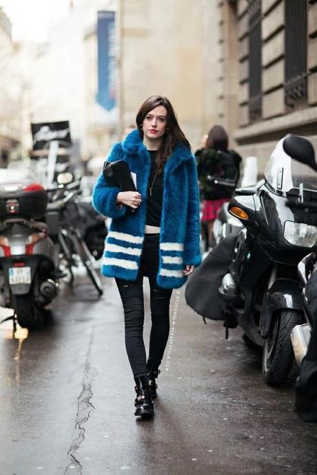 fur-faux-blue-Stockholm Street Style
