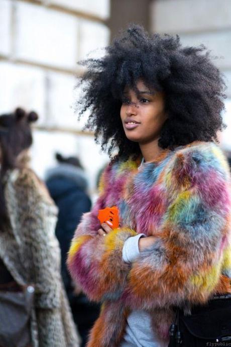 fur-multi-Julia photographed on the Strand, London