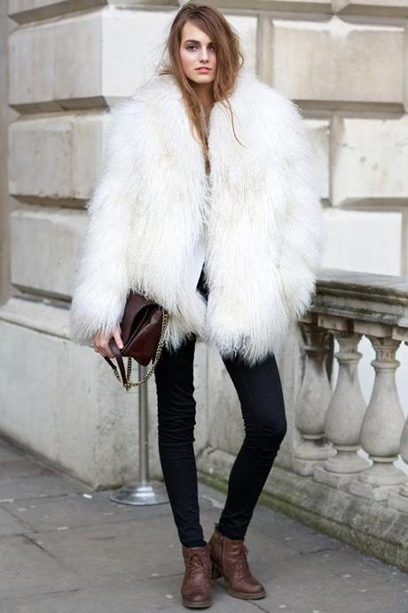 fur-white-fluffy-london-fashion-week-teen-vogue