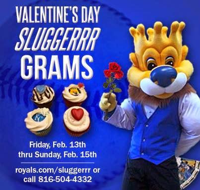 Kansas City Royals Valentine's Day Cupcake Grams Available!