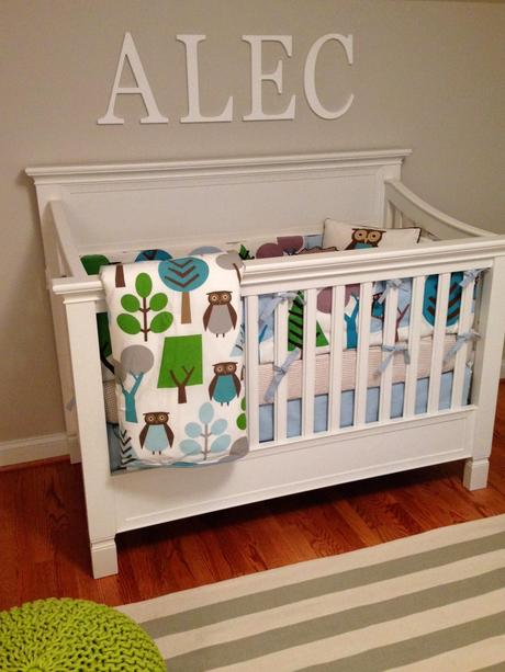 Woodland Baby Nursery Install Day: Part 2