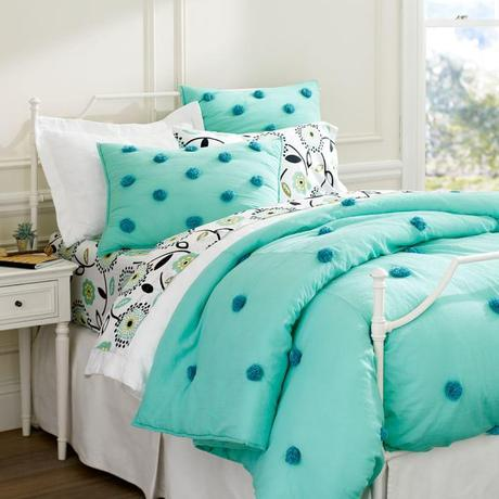 Purple Gray And Turquoise Bedroom Makeover For Two