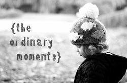 The Ordinary Moments [W/ending 25th Jan 2015]