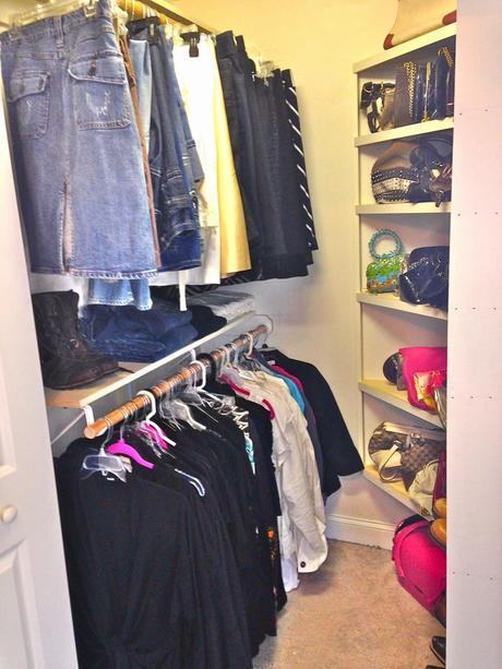 Master Bedroom Custom Closet Mini-Reveal