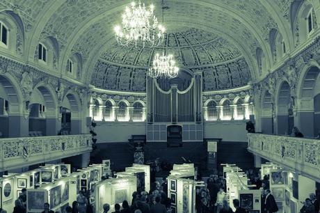 Joelle Dinnage Oxford Art Fair gallery simon brushfield