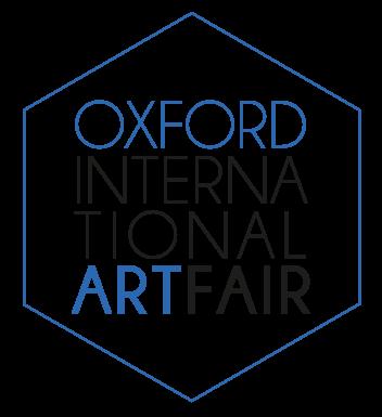 Joelle Dinnage Oxford Art Fair logo simon brushfield