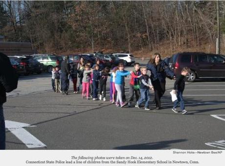 Sandy Hook evacuation