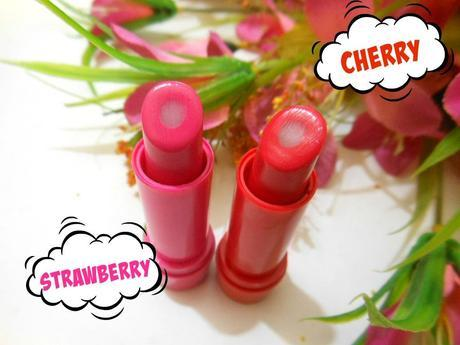 Lakme Lip Love Care Balm Strawberry, Cherry : Review, Swatches, Price