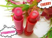 Lakme Love Care Balm Strawberry, Cherry Review, Swatches, Price
