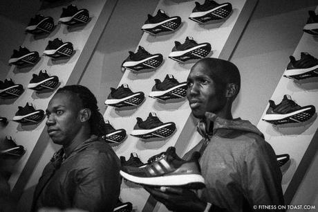 Fitness On Toast Faya Blog Girl Training Workout Exercise Fitness Fashion Fit Activewear Adidas Product Launch Running Shoe Shoes Trainers Sneakers Ultra Boost New York America Wall Street Venue Eric Liedtke Johan Blake Wilson Kipsang-3