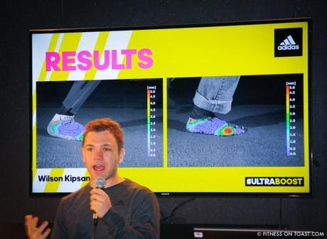 Fitness On Toast Faya Blog Girl Training Workout Exercise Fitness Fashion Fit Activewear Adidas Product Launch Running Shoe Shoes Trainers Sneakers Ultra Boost New York America Wall Street Venue Eric Liedtke Johan Blake Wilson Kipsang-9