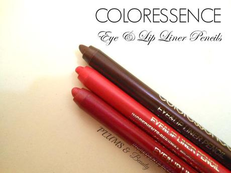 Coloressence Waterproof Lip Liner Pencil Wine Shine, Fuschia Pink ...
