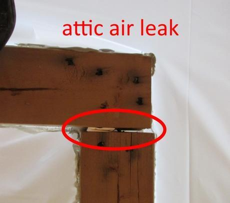 Attic - Air Leak