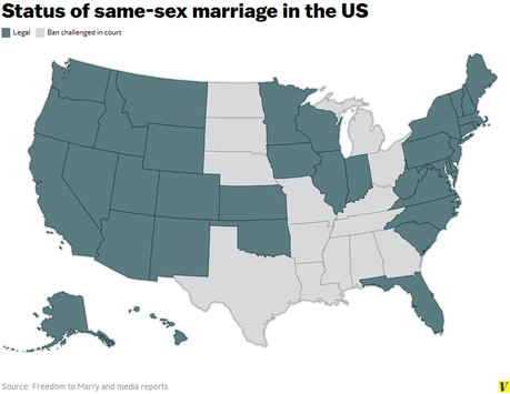 same sex marriage should be legalized in the united states The us supreme court has ruled that same-sex marriage is a legal right across the united states it means the 14 states with bans on same-sex marriage will no longer be able to enforce them justice anthony kennedy wrote that the plaintiffs asked for equal dignity in the eyes of the law.